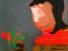 Elena, Acryl auf Leinwand 30x30 (im Privatbesitz)