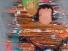 Rausch der Liebe, Acryl auf Leinwand 100x100